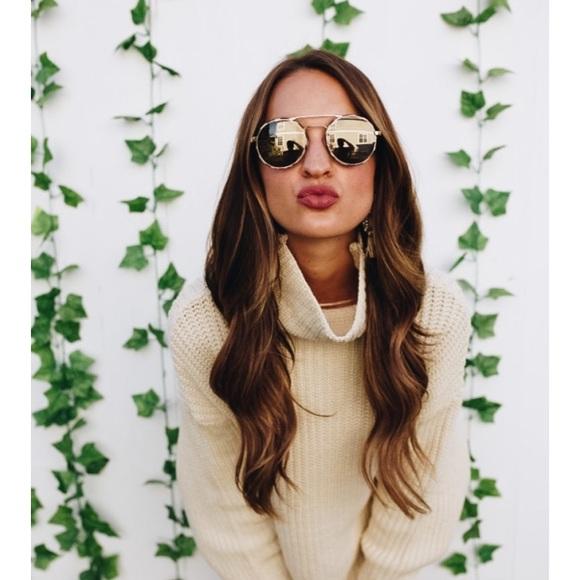 5ce054a8a1 Prada Catwalk Round Mirrored Sunglasses